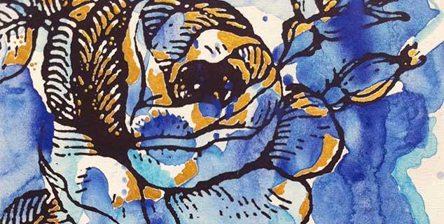 Jürgen Schiel - Abstrakte Malerei - Kunstbilder auf Leinwand